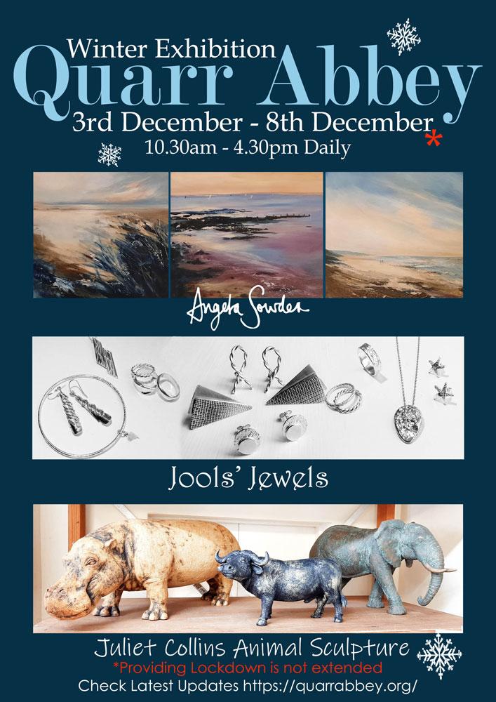 Winter-Exhibition-Quarr-Poster-2020-