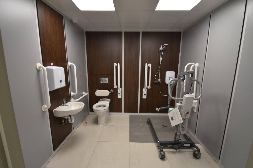 Paraplegic Toilet